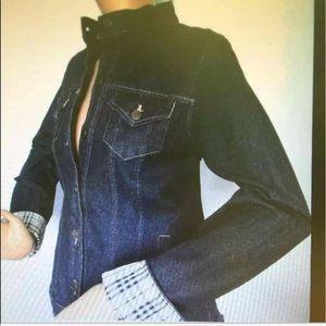 Burberry dark denim Jacket